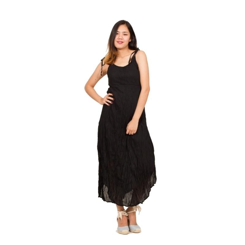 bca69471032 Dlouhé šaty  ŠATY TRILIAN ČERNÉ